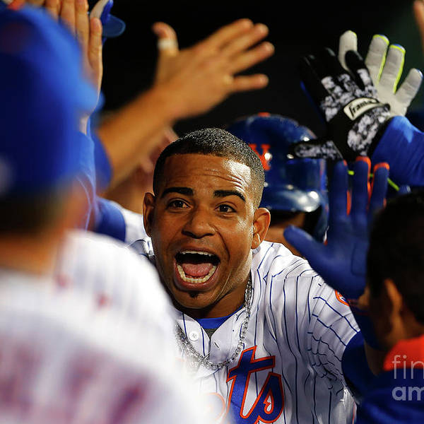 Yoenis Cespedes Art Print featuring the photograph Yoenis Cespedes by Rich Schultz