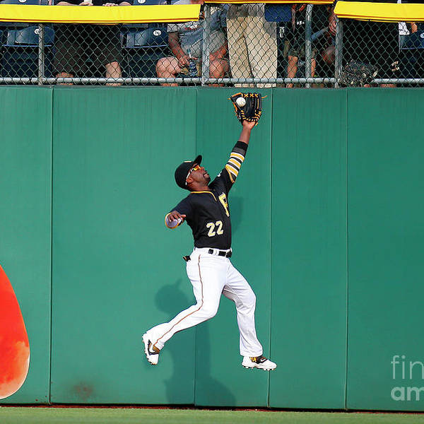 Second Inning Art Print featuring the photograph Andrew Mccutchen by Justin K. Aller