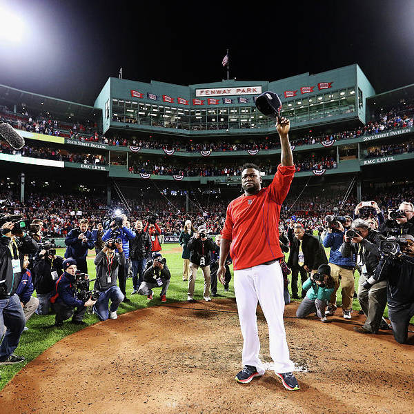 People Art Print featuring the photograph David Ortiz by Maddie Meyer