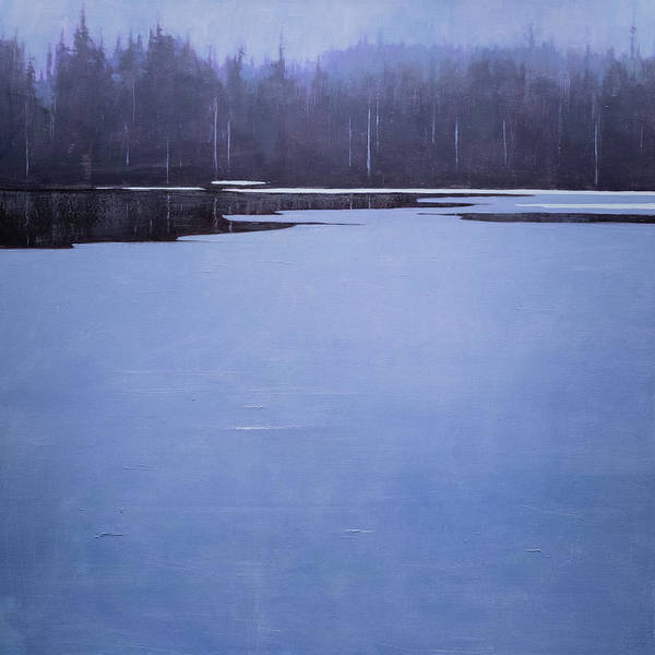 Art Print featuring the painting Bearskin Lake by Mary Jo Van Dell