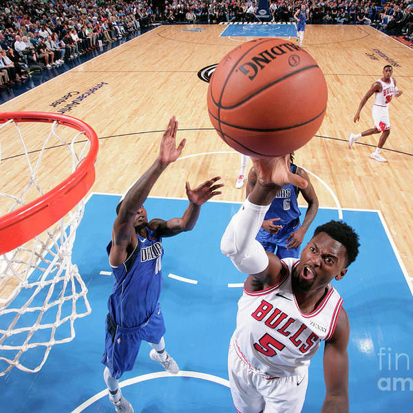 Nba Pro Basketball Art Print featuring the photograph Bobby Portis by Glenn James