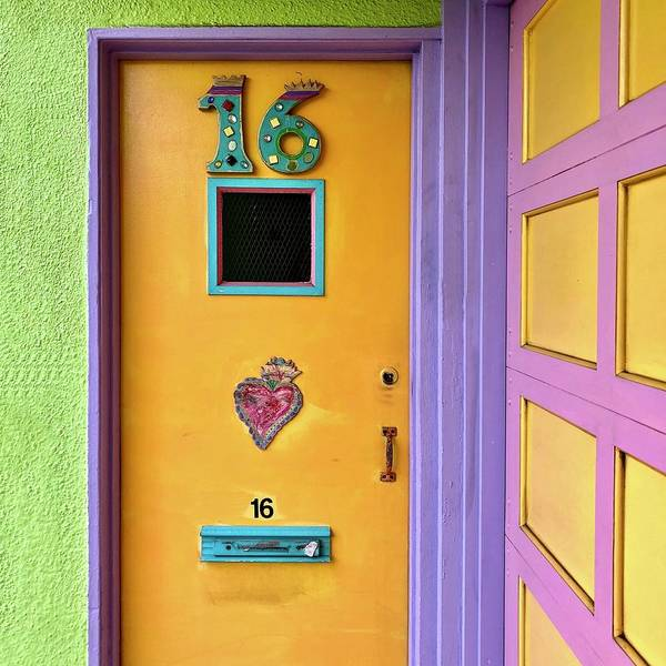 Art Print featuring the photograph Door 16 by Julie Gebhardt