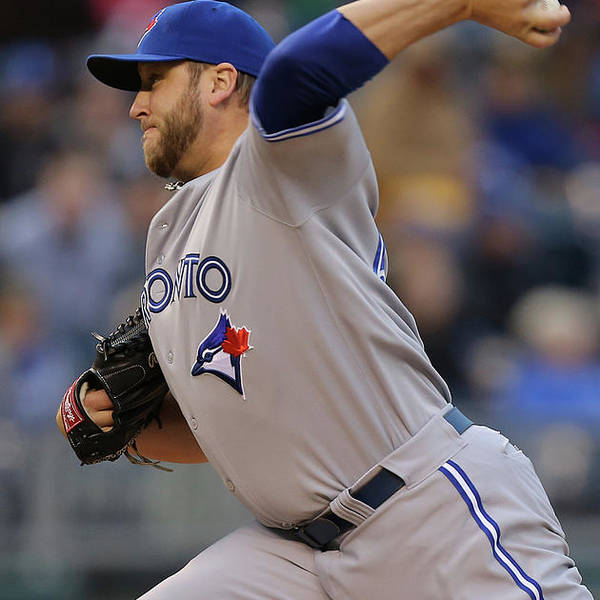 American League Baseball Art Print featuring the photograph Mark Buehrle by Ed Zurga