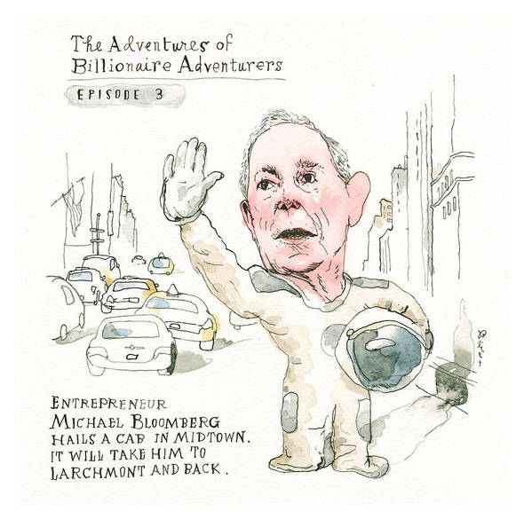 Michael Bloomberg's Latest Incredible Feat Art Print featuring the painting Michael Bloombergs Latest Incredible Feat by Barry Blitt