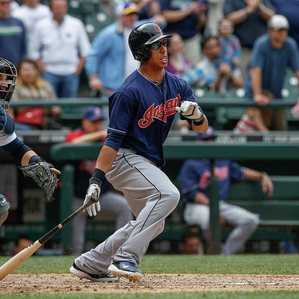 American League Baseball Art Print featuring the photograph Michael Brantley by Otto Greule Jr