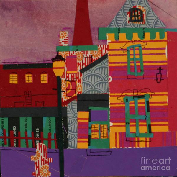 Lowell Art Print featuring the mixed media Revolving Museum by Debra Bretton Robinson