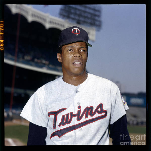 American League Baseball Art Print featuring the photograph Rod Carew by Louis Requena
