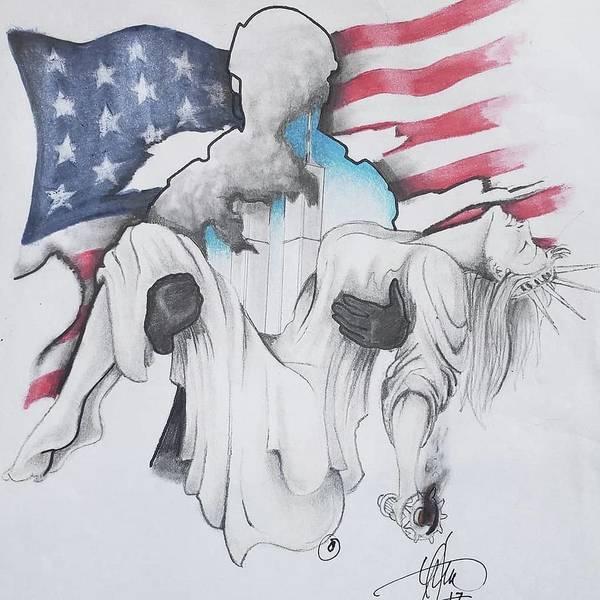 Saving Liberty 9/11/01 by Howard King
