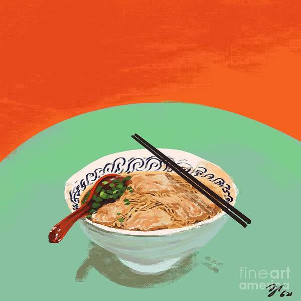 Wonton Noodle Soup by Frankie Huang