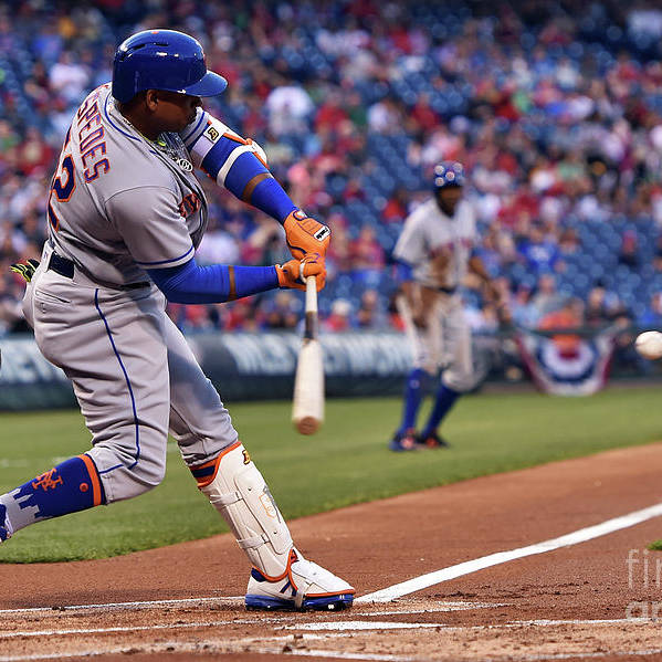 Yoenis Cespedes Art Print featuring the photograph Yoenis Cespedes by Drew Hallowell