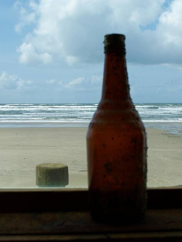 Bottle Art Print featuring the photograph Beyond The Bottle by Mark Cheney