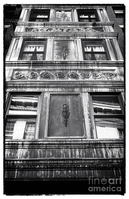 Window Design Art Print featuring the photograph Window Design by John Rizzuto