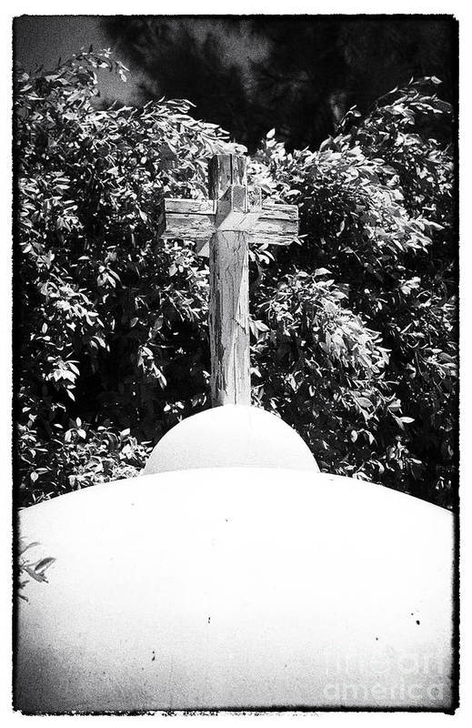 Cypriotic Crucifix Art Print featuring the photograph Cypriotic Crucifix by John Rizzuto