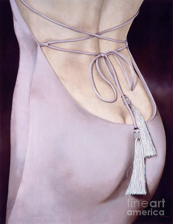 Lawrence Supino Print featuring the painting Tassels by Lawrence Supino