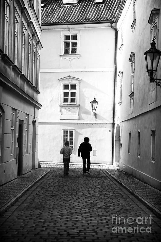 Exploring Prague Art Print featuring the photograph Exploring Prague by John Rizzuto