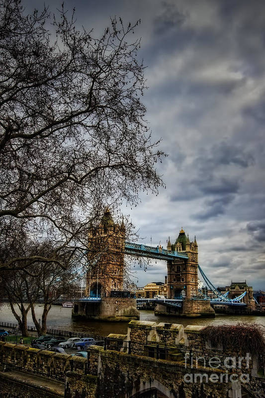 Architecture Art Print featuring the photograph Tower Bridge by Tamson
