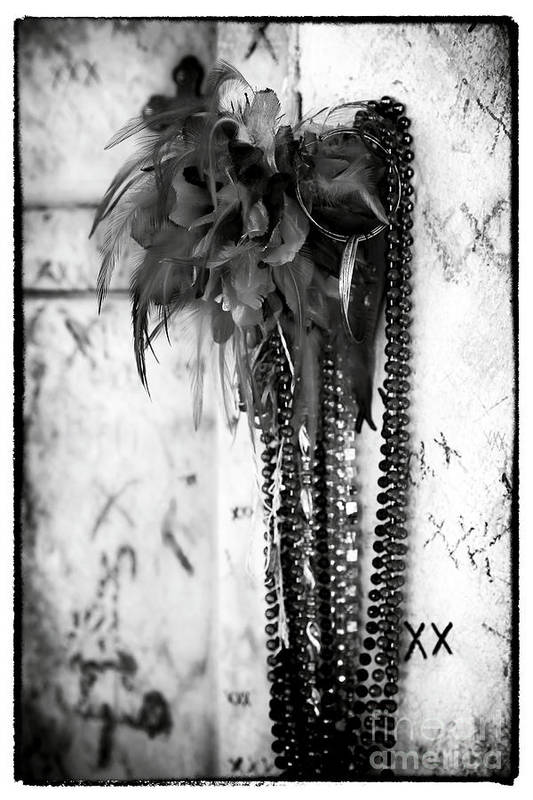 Voodoo In New Orleans Print featuring the photograph Voodoo In New Orleans by John Rizzuto