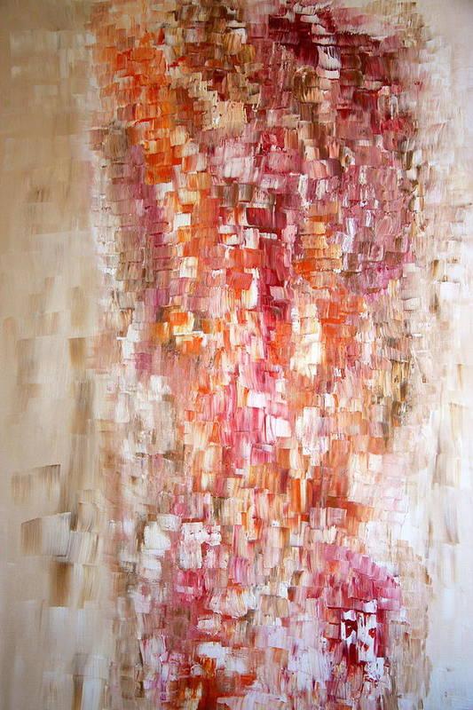 Acrylic Art Art Print featuring the painting Awakening by Janie Apostolakos