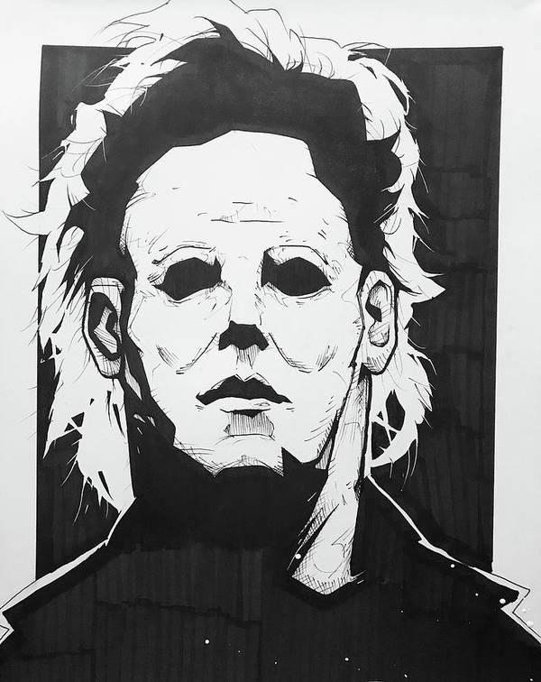 Michael Myers Art Print By Wickedlamb