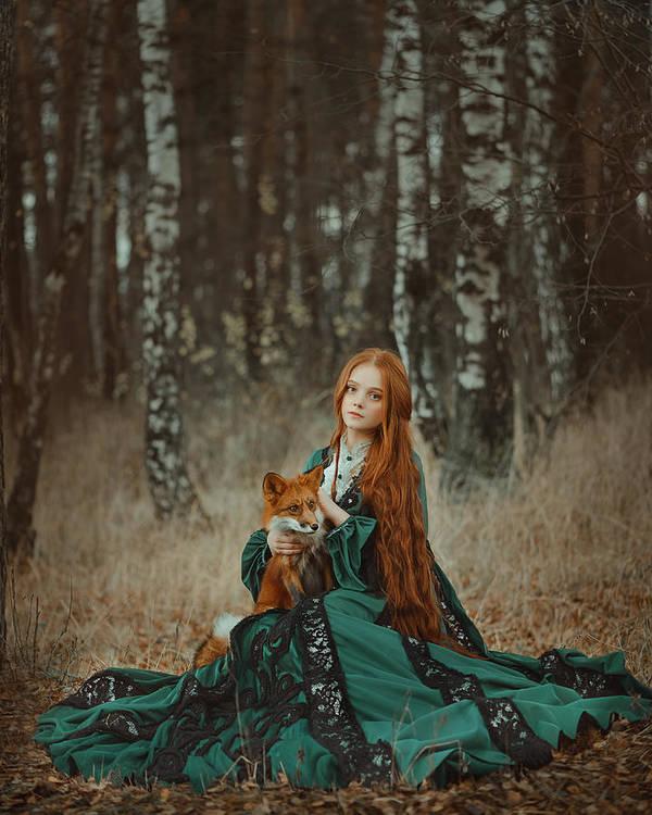 The Foxes by Anastasiya Dobrovolskaya