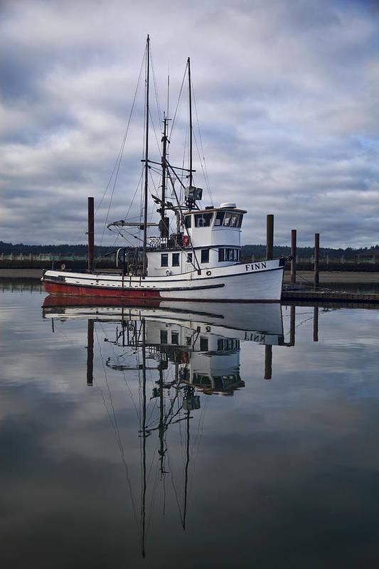 Morning Calm Newport Oregon by Carol Leigh