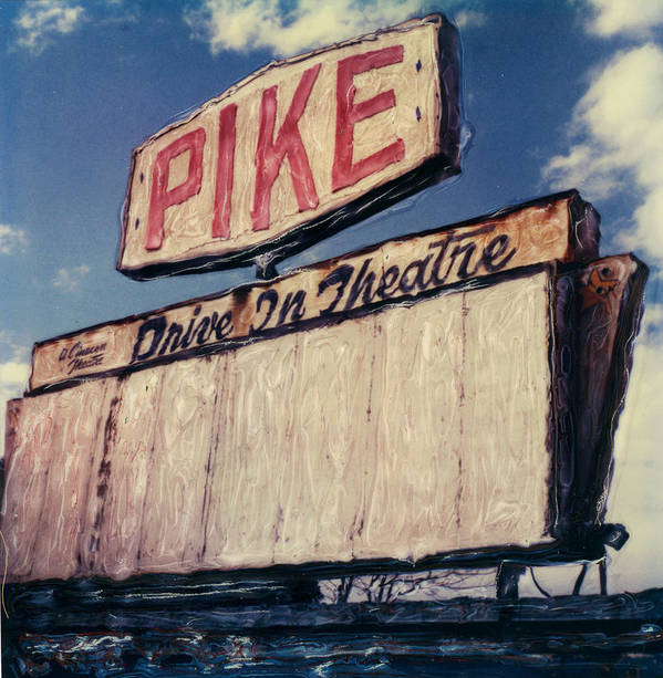 Polaroid Art Print featuring the photograph Pike Drive-in by Steven Godfrey