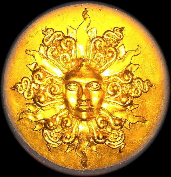 Sun Art Print featuring the photograph Sun A Go Go by Eric Singleton