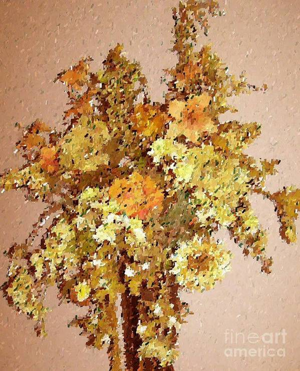 Floral Art Print featuring the print Fall Bouquet by Don Phillips