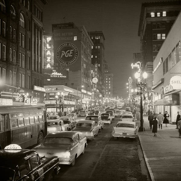 Art Print featuring the photograph Broadway by Unknown