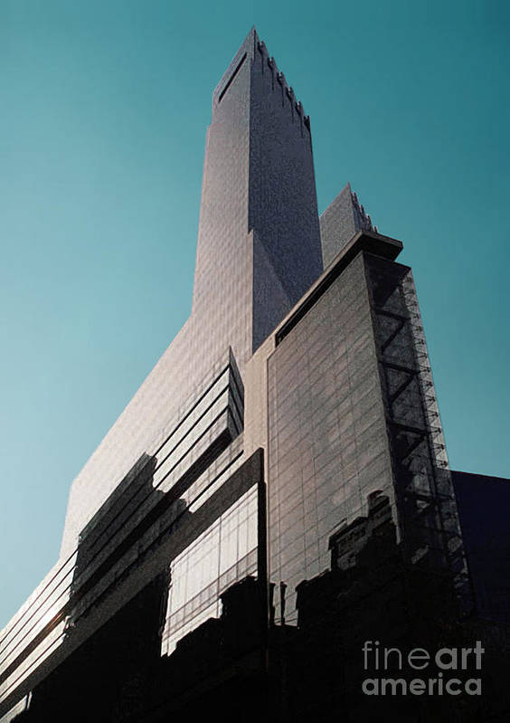 Building Art Print featuring the photograph 57th Street by David Klaboe