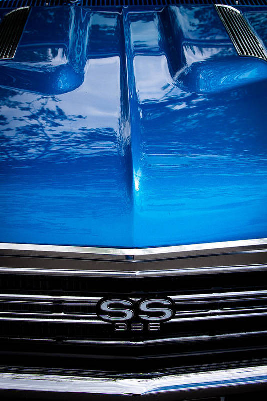 67 Print featuring the photograph 1967 Chevy Chevelle Ss by David Patterson