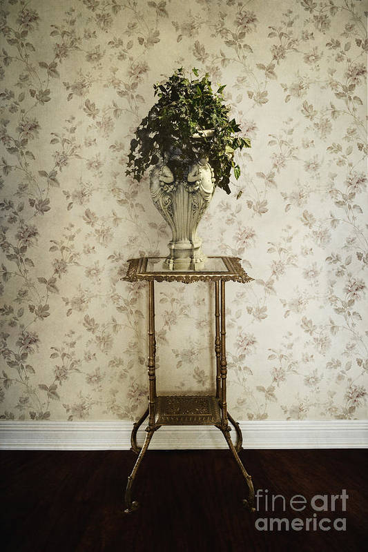 Plant Print featuring the photograph Foyer Living by Margie Hurwich