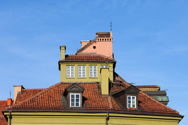 Warsaw Print featuring the photograph House Attic by Artur Bogacki
