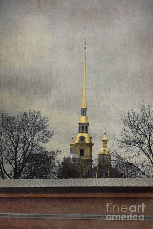 Peter And Paul Fortress Print featuring the photograph Peter And Paul Fortress by Elena Nosyreva