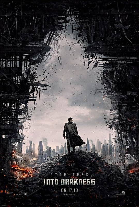 Star Trek Print featuring the photograph Star Trek Into Darkness by Movie Poster Prints