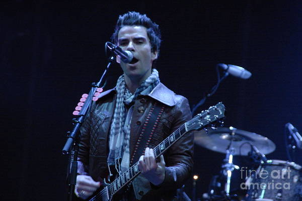 Kelly Jones Print featuring the photograph Kelly Jones by Jenny Potter