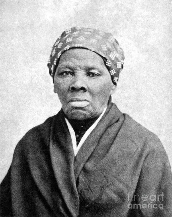 1895 Print featuring the photograph Harriet Tubman (1823-1913) by Granger