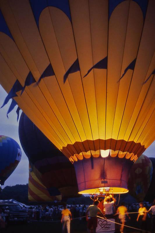 Hot Air Balloon Print featuring the photograph Hot Air Balloon - 10 by Randy Muir