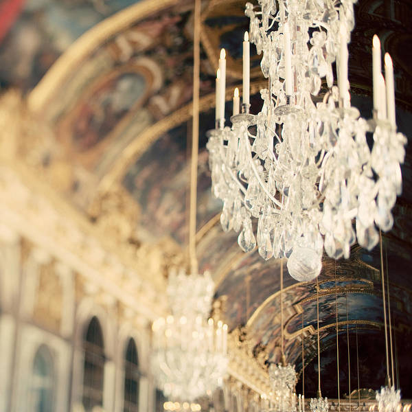 Chandelier Print featuring the photograph The Secret History by Irene Suchocki
