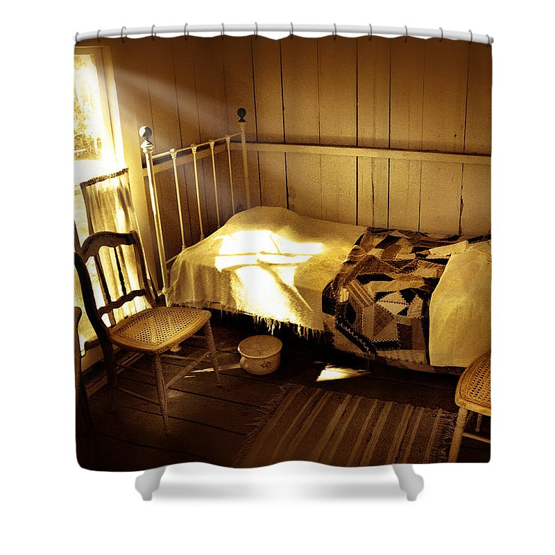Bedroom Shower Curtain featuring the photograph Dreams by Mal Bray