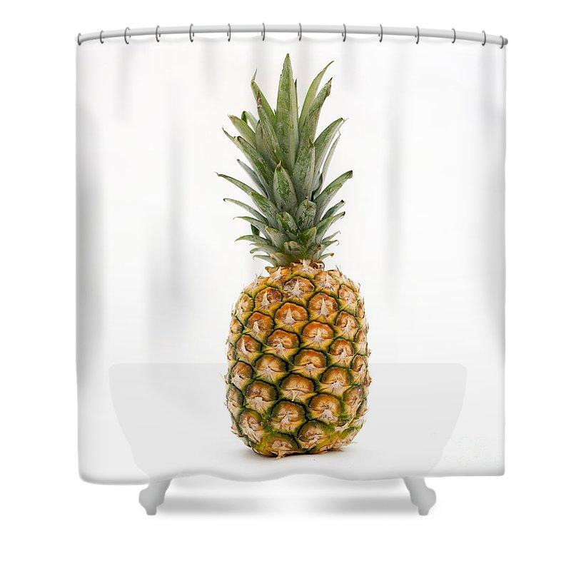 Fresh Pineapple Shower Curtain For Sale By Bernard Jaubert