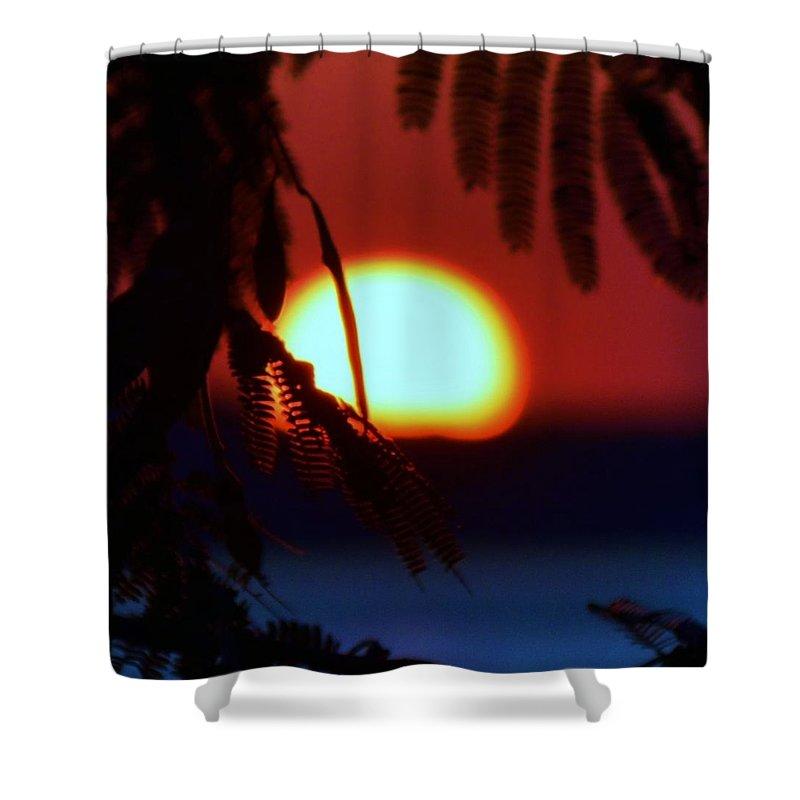 Beach Bum Pics Shower Curtain featuring the photograph Sun Fusion by William Bartholomew