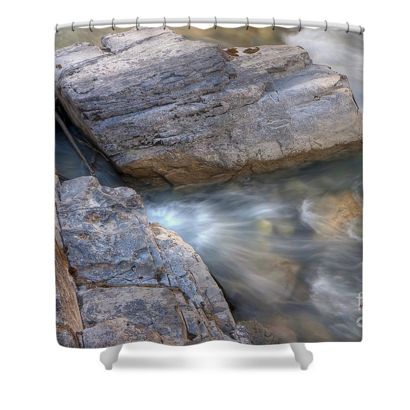 Marble Shower Curtain featuring the photograph 0180 Marble Canyon 2 by Steve Sturgill