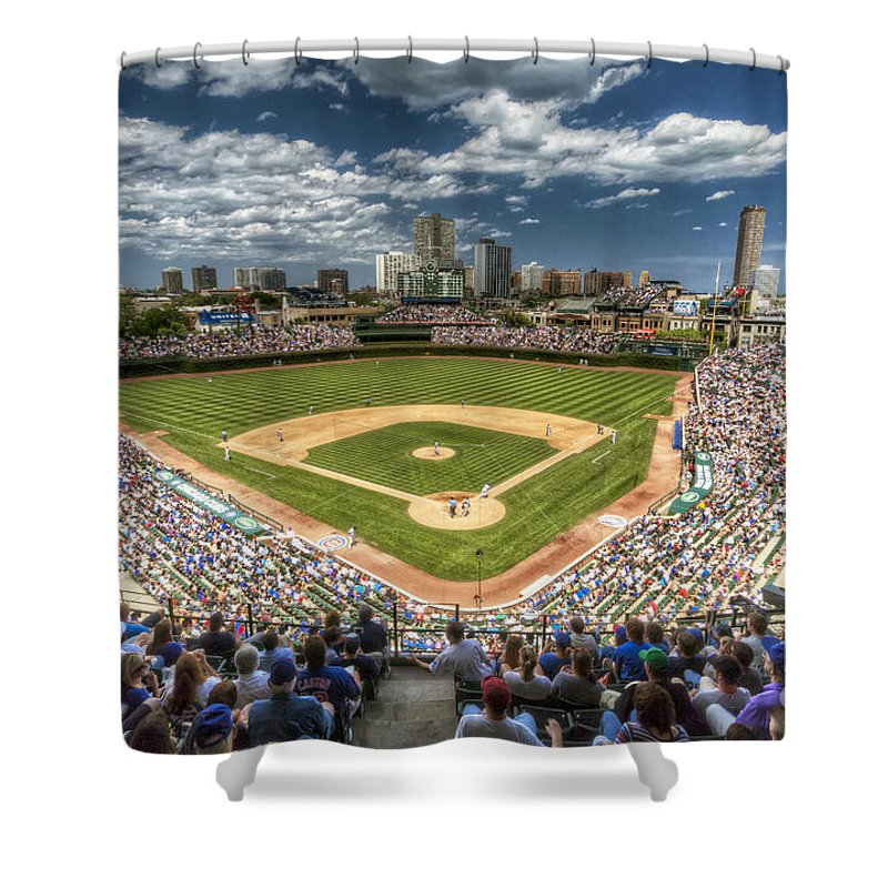 Wrigley Field Shower Curtains