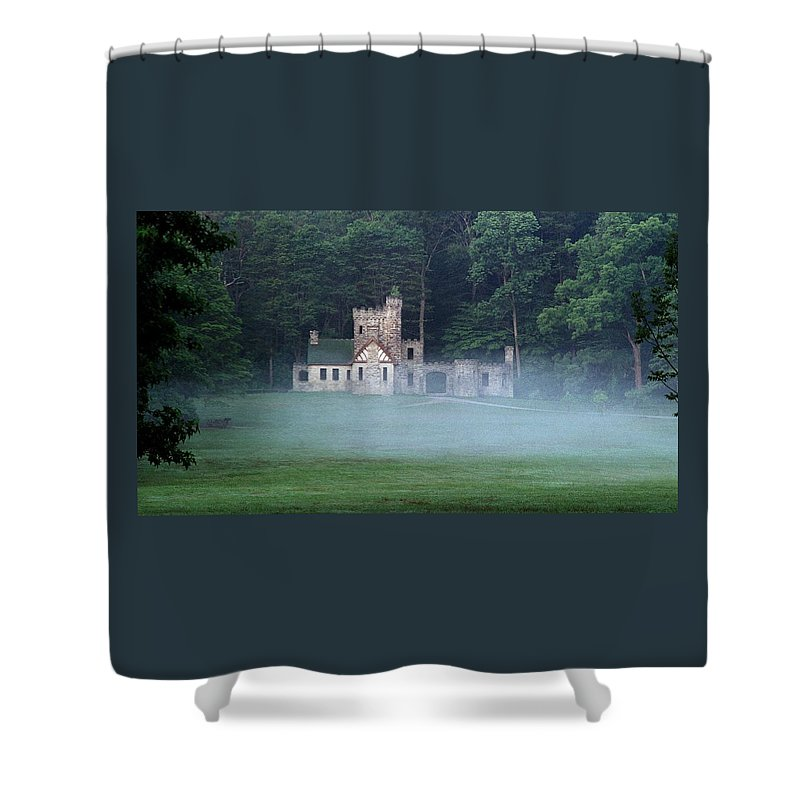 Squire Shower Curtain featuring the photograph 070506-42 by Mike Davis