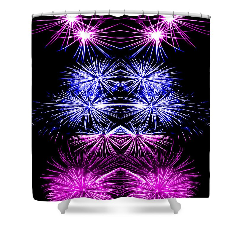 Original Shower Curtain featuring the photograph Abstract 135 by J D Owen