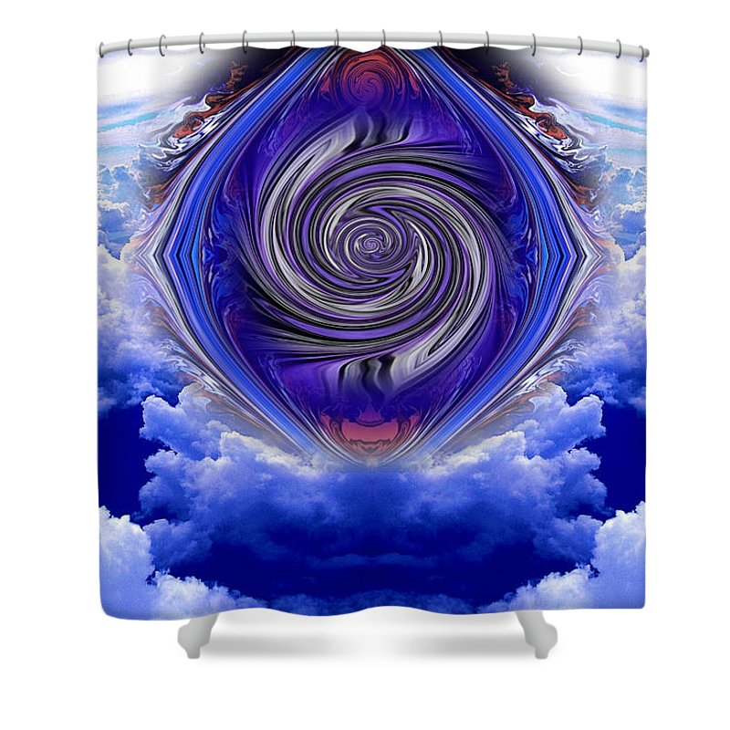 Original Shower Curtain featuring the photograph Abstract 143 by J D Owen