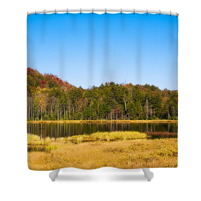 Adirondack's Shower Curtain featuring the photograph Adirondack Color Vi by David Patterson