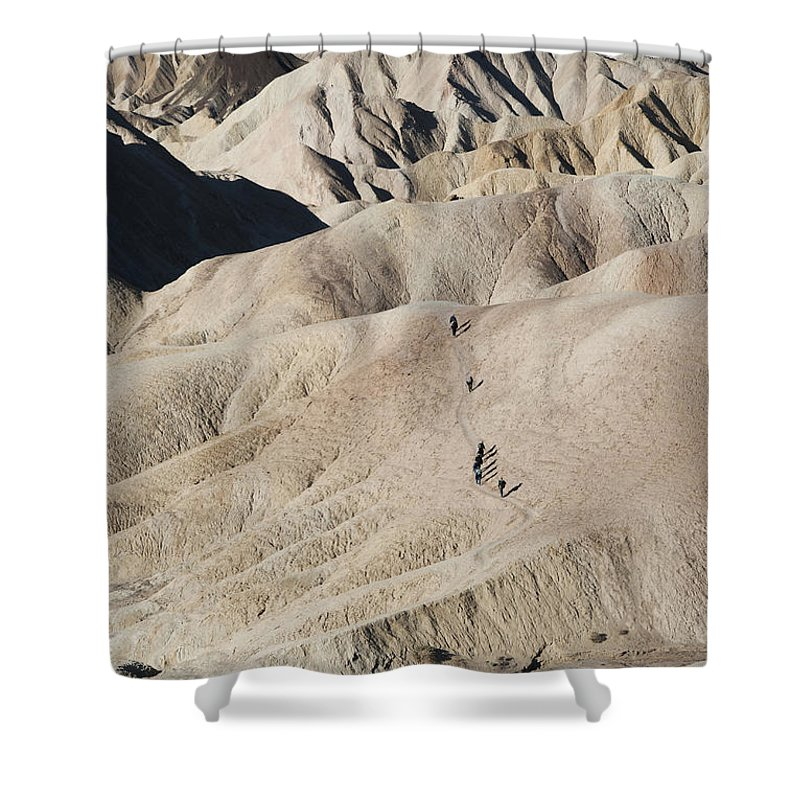 America Shower Curtain featuring the photograph Badlands 1 by Juli Scalzi