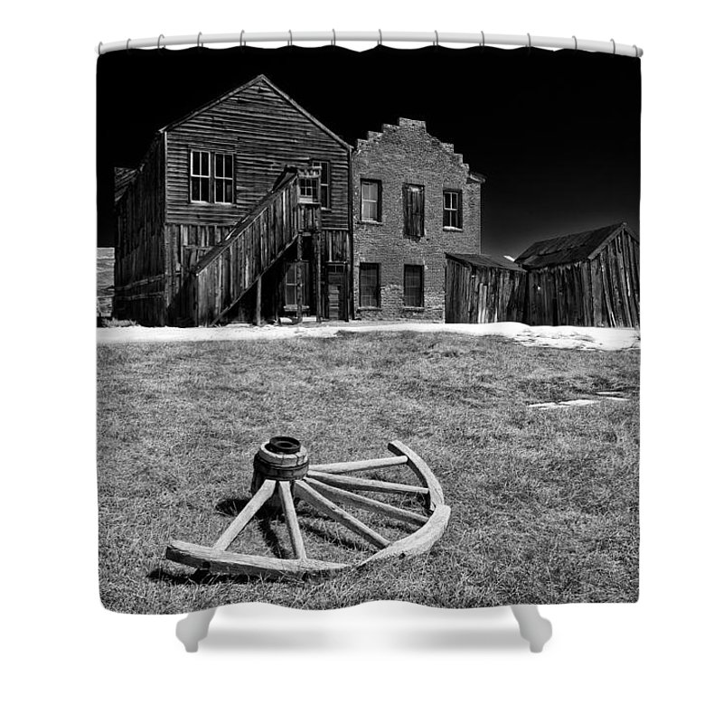 Bodie Shower Curtain featuring the photograph Bodie by Cat Connor